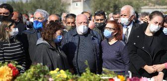 Mut: Musa Eroğlu'nun 55 yıllık eşi son yolculuğuna uğurlandı