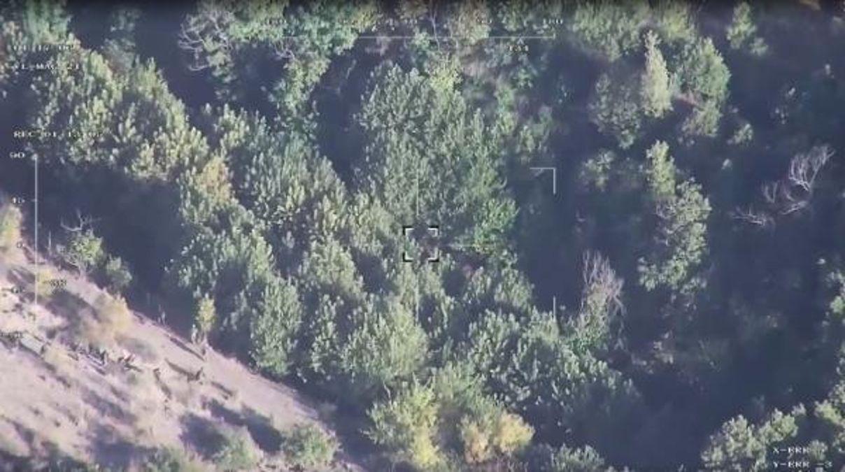 2 teröristin etkisiz hale getirildiği operasyon 'UÇBEY' kamerasında