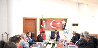Buğday: Başkan Gürkan, sanayi esnaf temsilcileriyle bir araya geldi