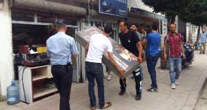 Belediyeden radikal karar: Arapça tabelalar tek tek sökülüyor
