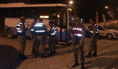 Malatya'da yolcu otobüsü tarandı: 3 kişi yaralı
