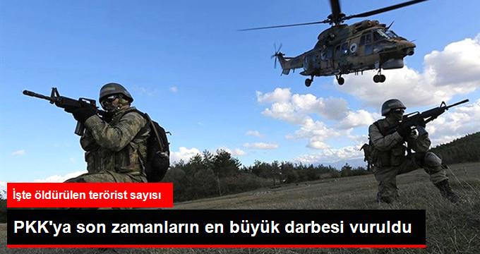 PKK'YA SON ZAMANLARIN EN BÜYÜK DARBESİ VURULDU