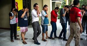 Sauna operasyonunda 141 eşcinsel erkek gözaltına alındı