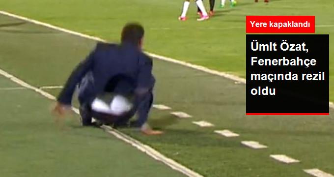Ümit Özat, Fenerbahçe maçında rezil oldu