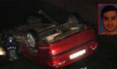 Otomobil sulama kanalına uçtu: 1 ölü, 1 yaralı!