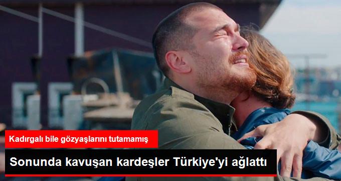 Sonunda kavuşan kardeşler Türkiyeyi ağlattı