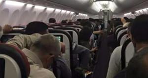 Havada panik! Diyarbakır uçağı, olay çıkınca Ankara'ya acil iniş yaptı