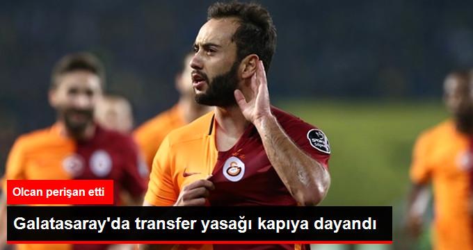 Galatasaray da transfer yasağı kapıya dayandı
