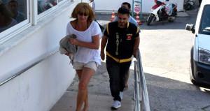 Interpol tarafından aranan kadın Marmaris'te ortaya çıktı
