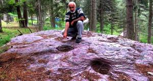 Amanos Dağları'ndaki esrarengiz kaya