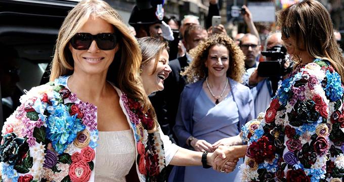 Melania Trump'ın ceketi 185 bin lira!