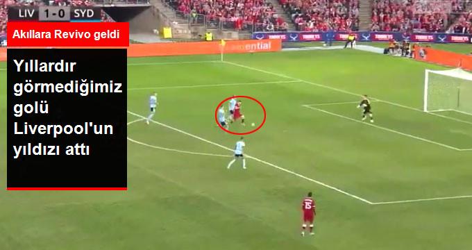 Yıllardır görmediğimiz golü Liverpool un yıldızı attı