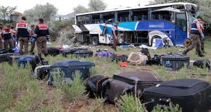 Ankara'da facia! Şoför uyudu, otobüs şarampole uçtu: 8 ölü, 34 yaralı