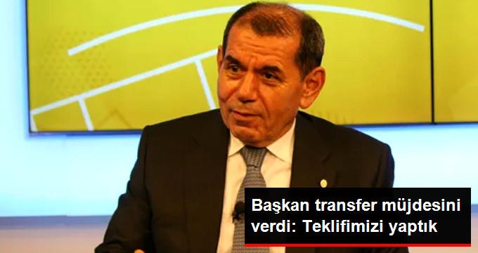 Başkan transfer müjdesini verdi: Teklifimizi yaptık