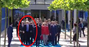 Karadağ Başbakanı'nı iten Trump'tan intikamı Macron aldı!
