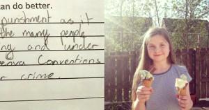 11 yaşındaki kız, öğretmenine verdiği cevapla fenomen oldu