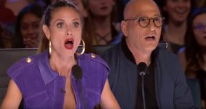 Yarışmacının şovu karşısında küçük dillerini yuttular