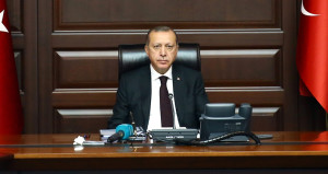 Erdoğan, yeniden o koltukta! İlk fotoğraflar geldi