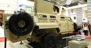 Türkiye'nin havan atabilen tek zırhlı aracı 'Pusat' görücüye çıktı