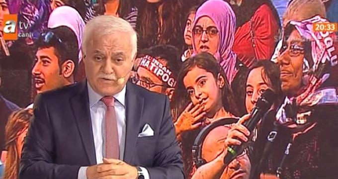 Nihat Hatipoğlu'nun programında izleyenleri hayrete düşüren soru