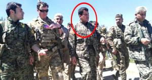 ABD'li komutanla poz veren YPG'li terörist öldürüldü!