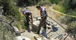 Antik kentten 2 bin 500 yıllık eser çaldılar ama sonu mutlu bitmedi