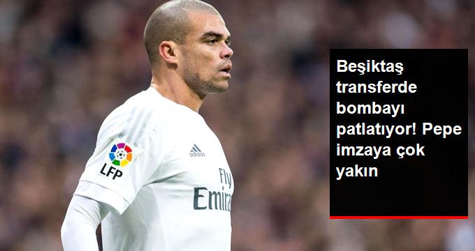 Beşiktaş transferde bombayı patlatıyor! Pepe imzaya çok yakın