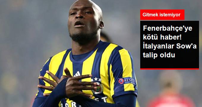 Fenerbahçeye kötü haber! İtalyanlar Sowa talip oldu