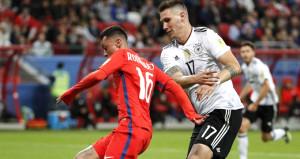 Konfederasyon Kupasında Almanya ile Şili yenişemedi