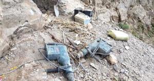 PKK'nın 4 odalı mağarası bulundu