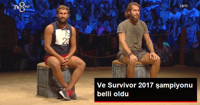 Ve Survivor 2017 şampiyonu belli oldu