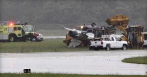 ABD'de uçak kazası: F-16
