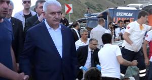 Başbakan Yıldırım'ın yolunda kaza: 5 ölü!
