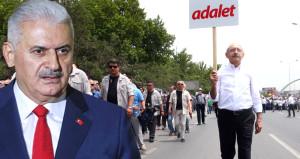 Kılıçdaroğlu'na sert gönderme: Kimi millet için yürür kimi boşuna