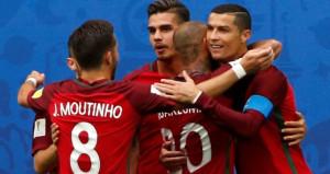 Konfederasyonlar Kupası'nda Portekiz ve Meksika yarı finalde