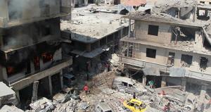 Muhaliflerin bulunduğu kentte bombalı saldırı: 10 ölü, 16 yaralı