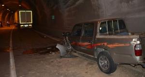 Tünelde hatalı sollamanın bedeli ağır oldu: Çok sayıda yaralı var