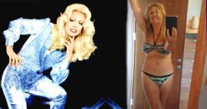 Füsun Önaldan bikinili 70. yaş pozu