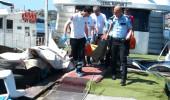 Haliç Metro Köprüsü'nden atlayan genç kızı tekne kaptanı kurtardı