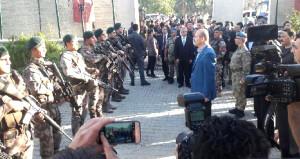 İçişleri Bakanı bayram namazını sıcak bölgede kıldı