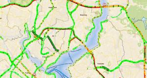 İstanbul'da her yer boş, köprüler kilit