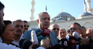 Camide rahatsızlık geçiren Erdoğan'dan ilk açıklama