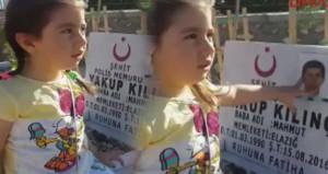 4 yaşındaki şehit kızından babaya duygulandıran sesleniş