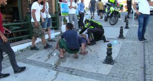 Bodrum'da yağ varili bomba gibi patladı: 2 yaralı
