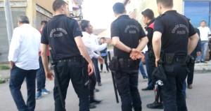 Dadaşlar ve Suriyelilerin meydan kavgası! 50 kişi birbirine girdi