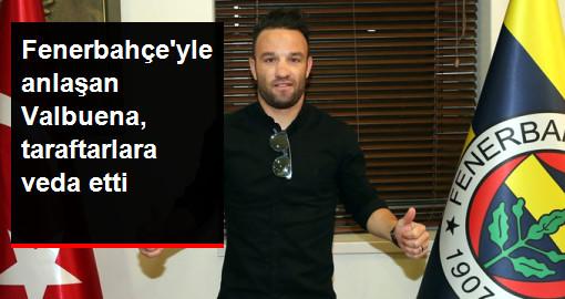 Fenerbahçe'yle Anlaşan Valbuena, Lyon'a Veda Etti