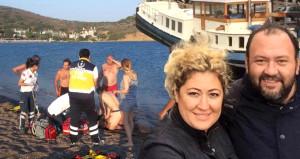 Profesyonel yüzücü, denizde can verdi!