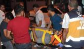 Suriyelilerin evi cayır cayır yandı, 5 kişi hastanelik oldu!