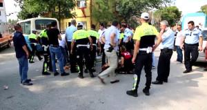 Hırsızlık olayına giden yunus ekibi kaza yaptı: 2 polis yaralı