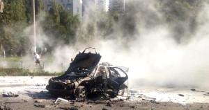 Ukrayna'nın kalbinde patlayan araçta suikast izi